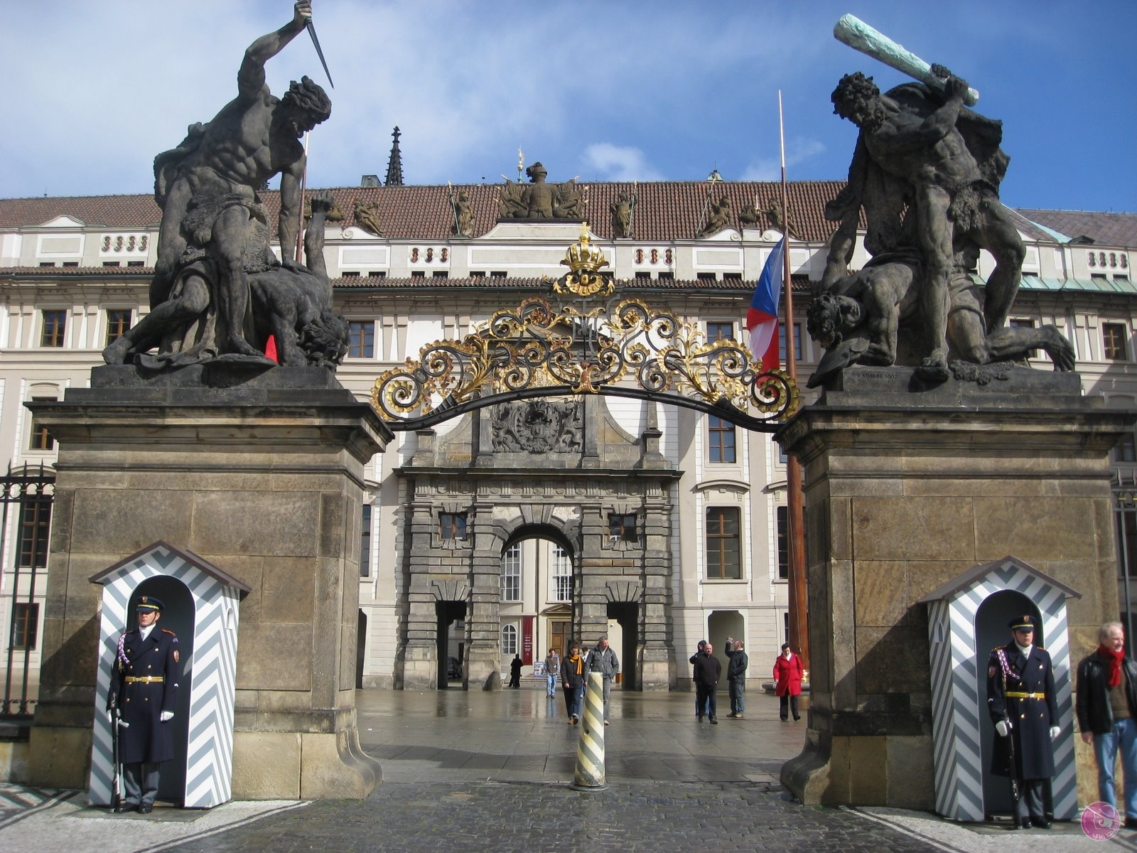 Prague-Castle-Entrance