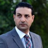 بالصورة:  حمادة بركات مع زوجته المحجبة وبناته في حفل عيد ميلاد نجل نورهان..