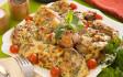 اوراك دجاج بصوص البشاميل الأخضر ( بالأعشاب)